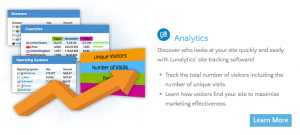 lunalytics analytics software