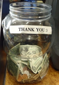 Apple pay mobile wallet tipping